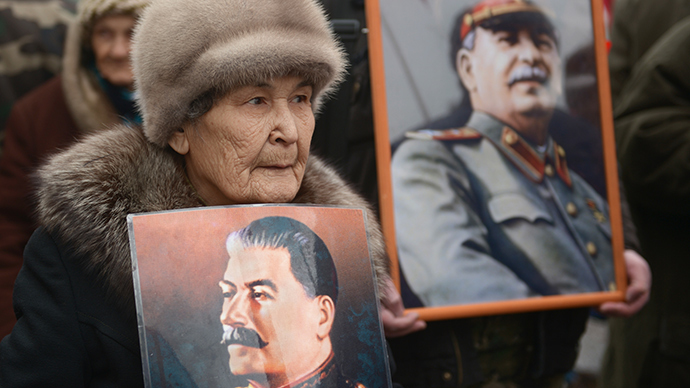 Activists decry Russians' increasing sympathy for Stalin