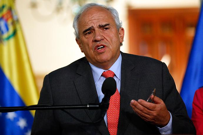 Secretary General of the Union of South American Nations (UNASUR) Ernesto Samper (Reuters / Carlos Garcia Rawlins)