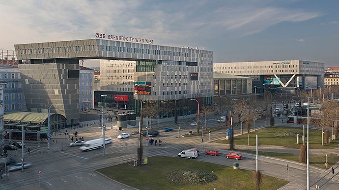 Vienna's Westbahnhof (Image from wikipedia.org)