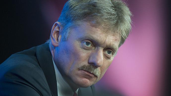 Presidential Press Secretary Dmitry Peskov (RIA Novosti / Sergey Guneev)