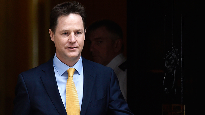 ​General ejection: Deputy Prime Minister Clegg set to lose seat, poll indicates