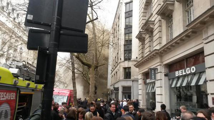 LSE evacuated due to fire