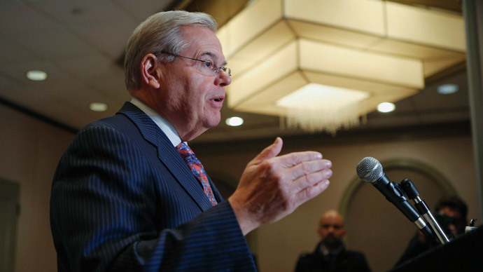 Senator Menendez indicted on corruption charges