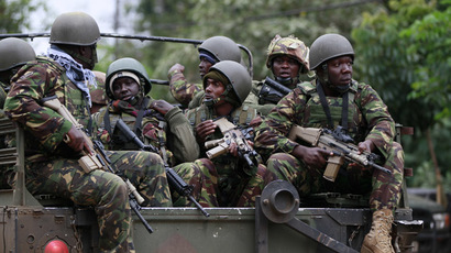 Soldiers from the Kenya Defence Forces. (Reuters/Thomas Mukoya)