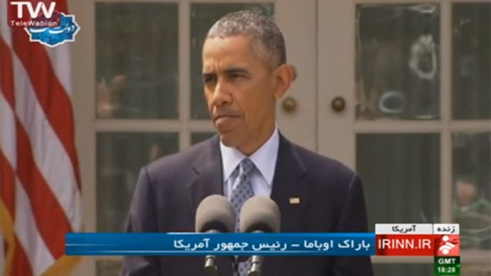 Selfie storm: Unprecedented tweet-fest in Iran during Obama speech broadcast live