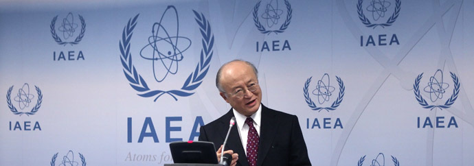 International Atomic Energy Agency (IAEA) Director General Yukiya Amano (Reuters/Heinz-Peter Bader)
