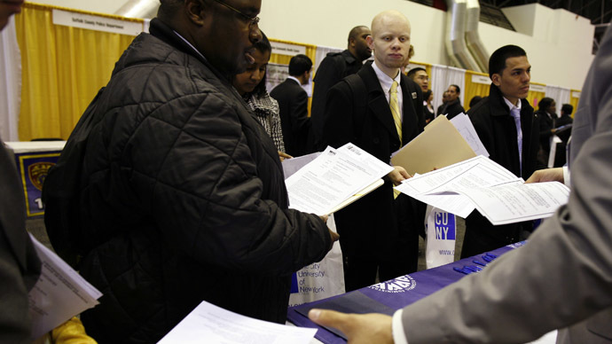 US economy added almost 50% less jobs in March than average month in '14
