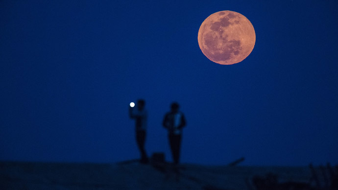 'Blood Moon' rises: Total lunar eclipse over the US