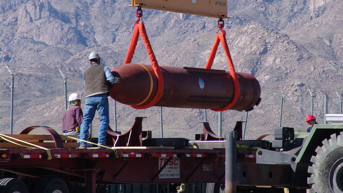 Pentagon upgrades biggest 'bunker buster' bomb in case Iran talks fail - report