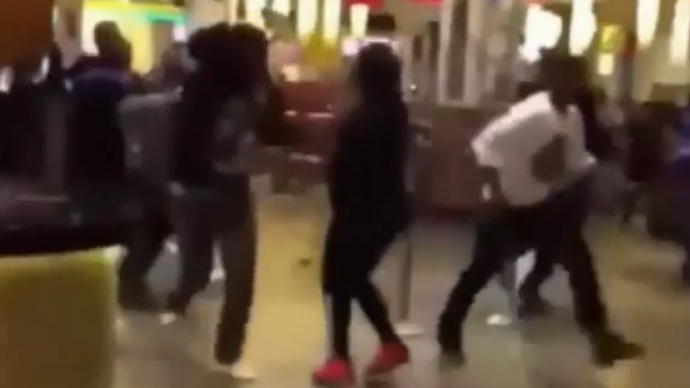 ​Massive brawl erupts in crowded New York casino (VIDEO)