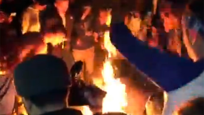Basket cases: 29 arrests as frustrated basketball fans riot in Lexington