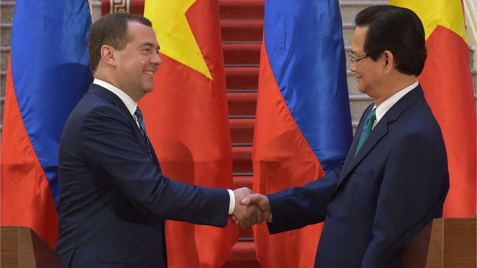 Vietnam and Eurasian Economic Union free trade zone deal in 'home straight' – Russian PM