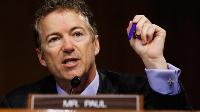 U.S. Senator Rand Paul (R-KY) (Reuters / Jason Reed)