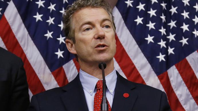 Senator Rand Paul (Reuters / Jonathan Ernst)