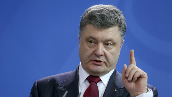 Ukrainian president says he's open to referendum on regional powers