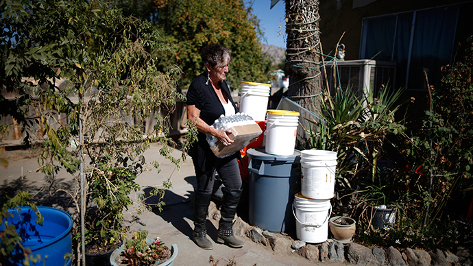 Affluent Californians using far more water amid severe drought - study