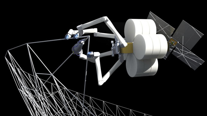 ​Interstellar reality? Spider-like droids to build giant space structures