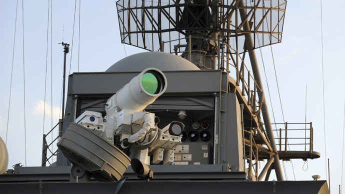 More lasers: Think tank urges Pentagon to invest in energy weapons