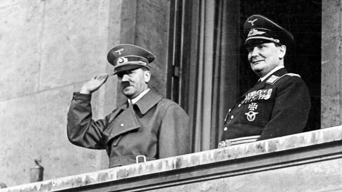 Sweaty swastika: Goering's worn-out Nazi uniform on sale for £85,000 in UK antique shop