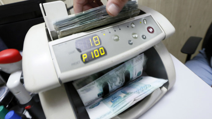 Ruble hits new 2015 record, resilient to sinking oil