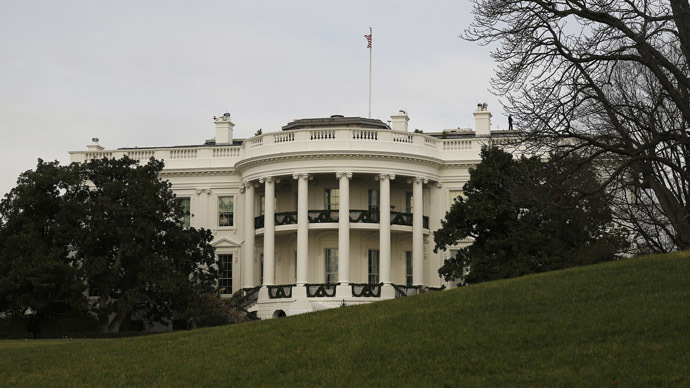 A view of the White House from the South Lawn in Washington. (Reuters/Larry Downing)