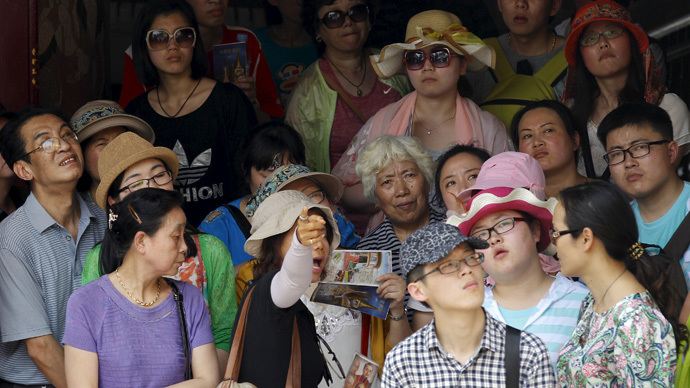 'Blush with shame': China to register its tourists' misbehavior