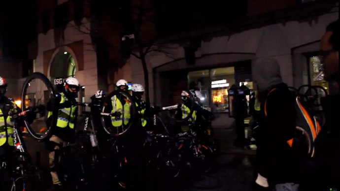 Students barricade themselves inside Montreal university after arrests