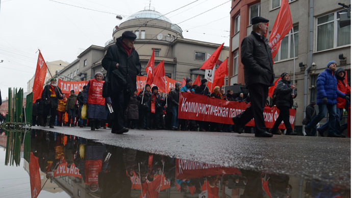 Communists challenge conservatives' dominance in latest Russian party rating