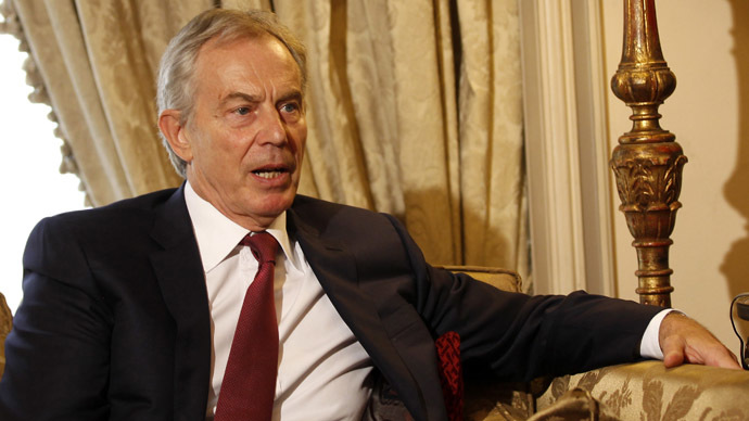 'Super-rich, me? Absolutely not': Tony Blair says just lucky, despite lucrative business, property empire