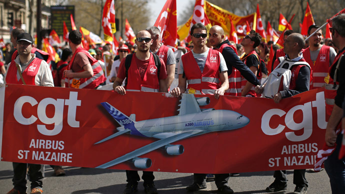 ​Eiffel Tower, schools, airports shut as thousands take to French streets in nationwide strike