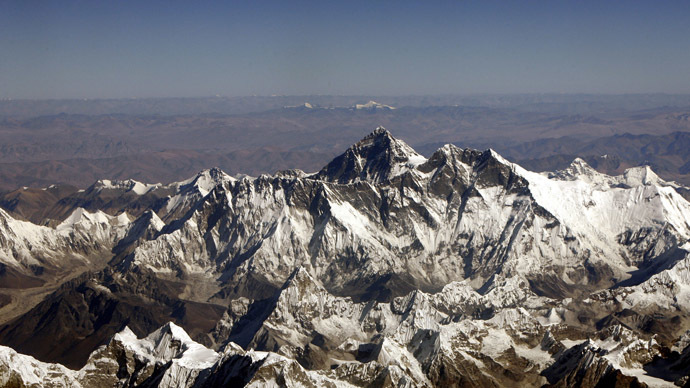 Mount Everest. (Reuters/Desmond Boylan)