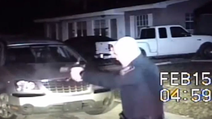 Shocking dashcam video shows fatal shooting of mentally ill Florida man