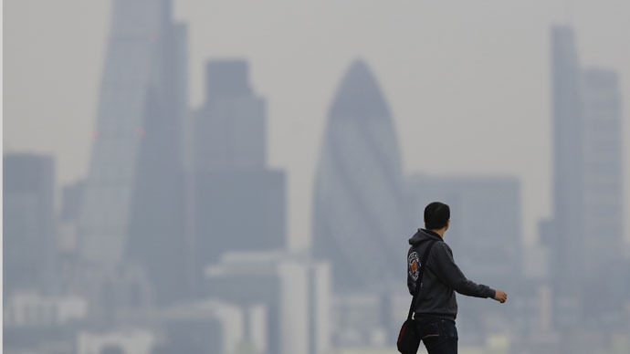 Saharan dust blows into UK, triggering heart & lung health warnings