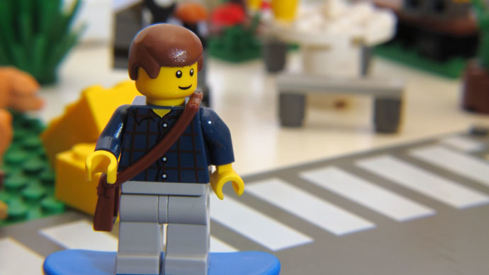 Burglars bricking it: Edinburgh police use Lego to fight crime