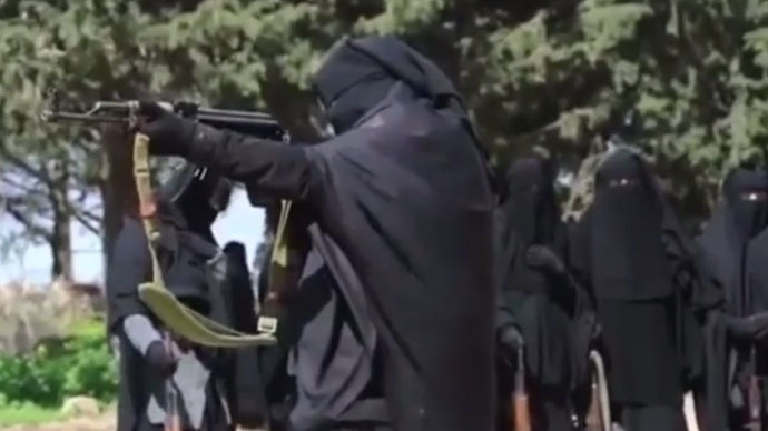'Equal of men': Female militant group 'fighting for country' emerges in Syria