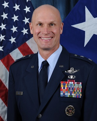Air Force Maj. Gen. James Post III (US Air Force)