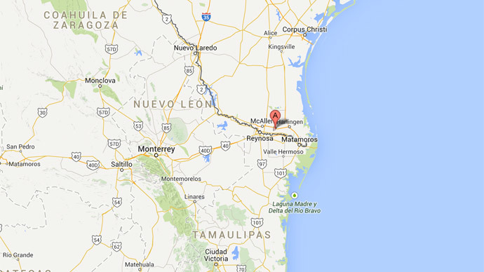 Poisonous gas alert at water plant in Weslaco,TX, people evacuated