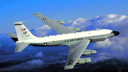 RC-135 U.S. reconnaissance aircraft  (Reuters//U.S. Air Force)