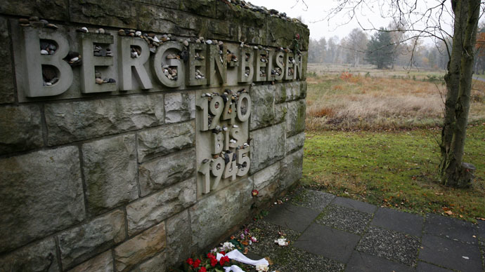 Site of mass grave found at Nazis' Belsen concentration camp - Dutch TV
