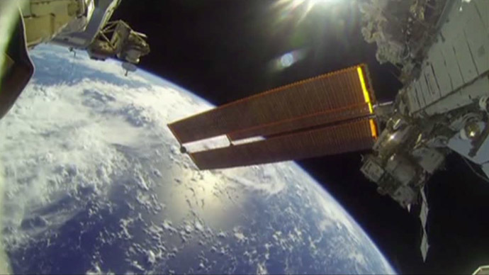 Breathtaking: NASA astronauts take you on a spacewalk with GoPro camera (VIDEO)