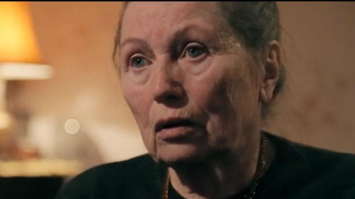 Concentration camp victim Eugenia Loginova (Still from RT video)