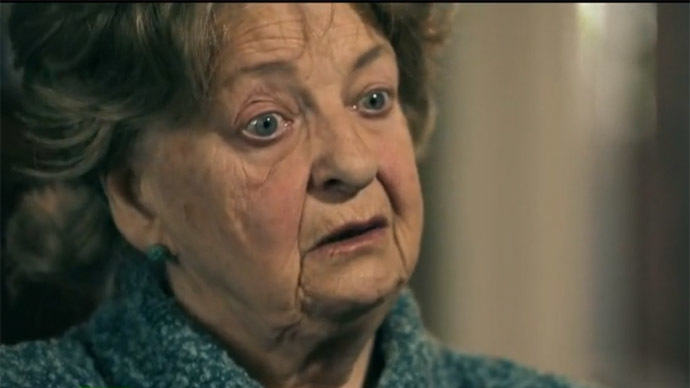 Concentration camp victim Zinaida Semyonova (Still from RT video)