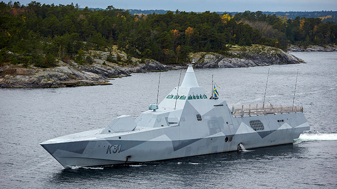Sweden confirms mystery 'Russian sub'…was in fact a workboat