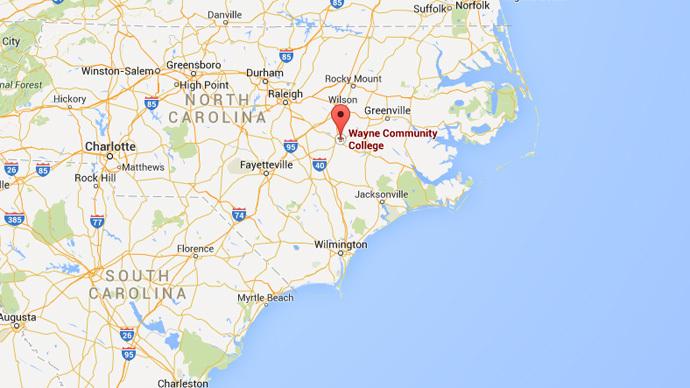 Shooter at large at North Carolina college, 1 killed