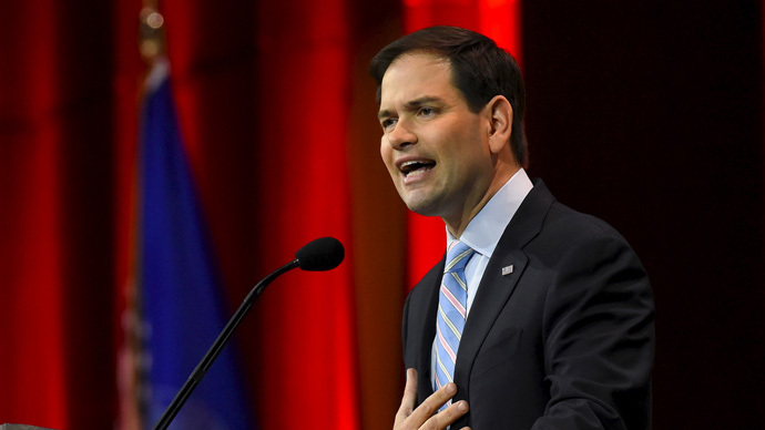 Republican Senator Marco Rubio joins presidential race