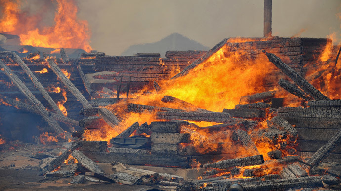 23 dead, more than 900 injured in Siberian grassland fire
