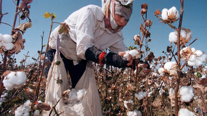 ​One million forced to pick cotton in Uzbekistan in 2014
