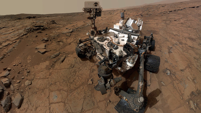NASA's Curiosity finds liquid water below Mars' surface