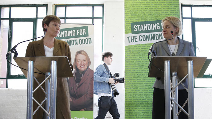 'Peaceful political revolution': Green Party plans end to austerity, climate change