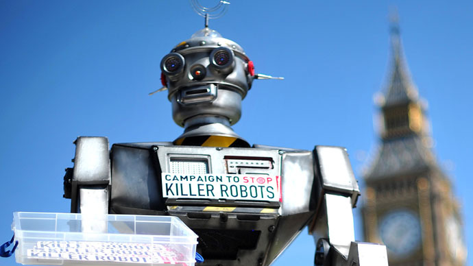 UK opposes international ban on 'killer robots'